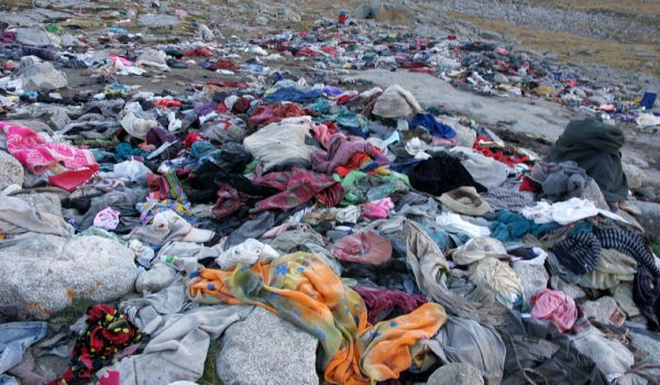 Day 2 of the kora: Shiva-tsal (5.330 m) where the pilgrims symbolically die and leave some clothing behind. They are reborn again on the Drolma La pass (2010)