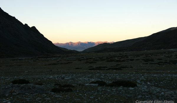 Day 3 of the kora: the Lham-chu Valley early in the morning (2010)