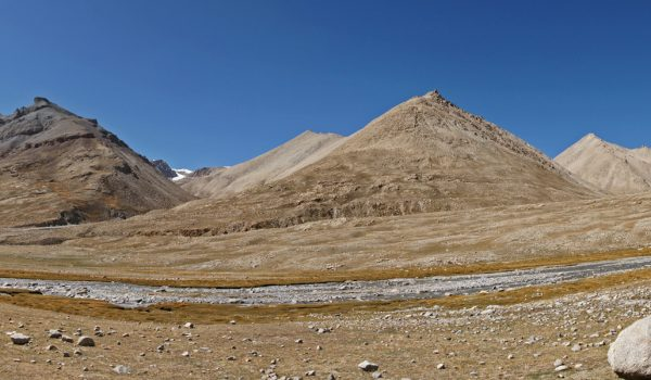 Day 1 of the kora: the beautiful, barren landscape at the end of the Lha-chu Valley (2011)