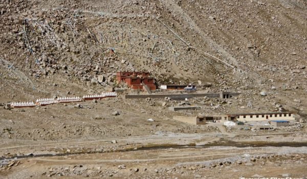 Day 1 of the kora: Dira-puk Monastery (2011)