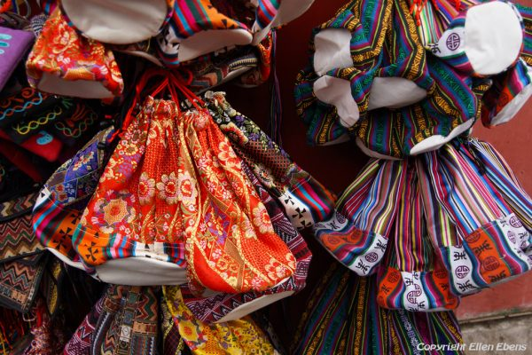 Lhasa: little bags you can buy at the Barkhor