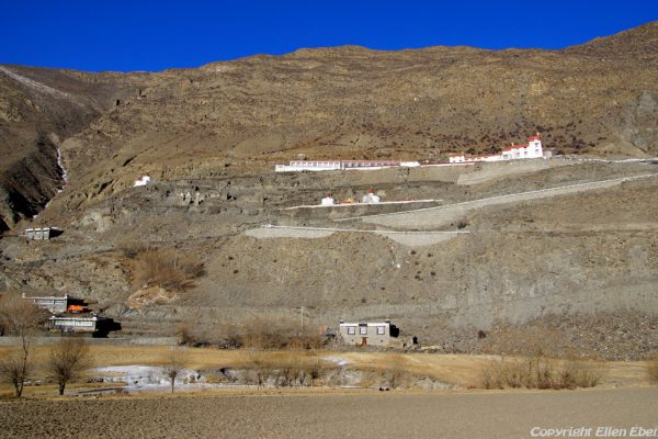 Yasang Monastery (in the valley behind Tsedang)