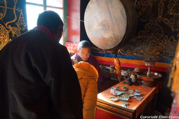 Inside Yasang Monastery