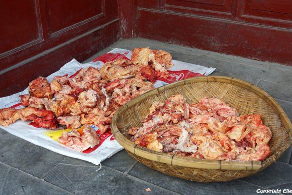 Butcher at Songpan Ancient Town