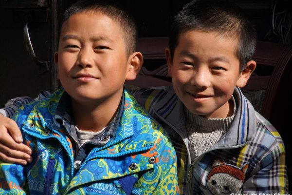 Boys at Songpan Ancient Town
