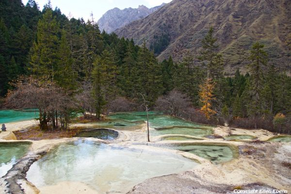 Huanglong National Park: Guests Welcome Pond