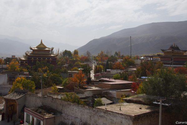 Gomar monastery near Rebkong (Tongren)