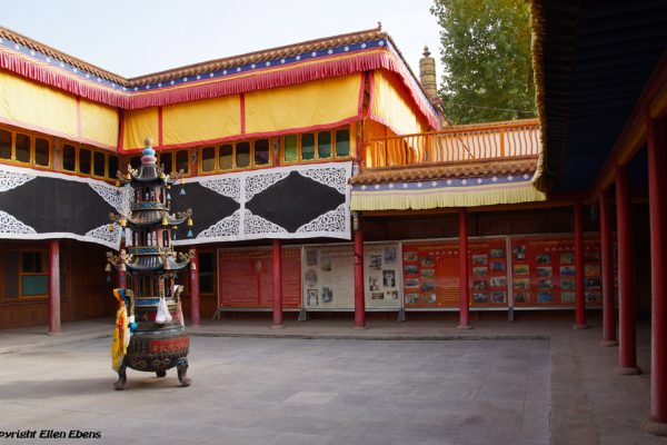 The birth house of the 10th Panchen Lama in the little village of Mari