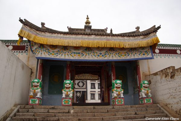 Rongwu Monastery at Rebkong (Tongren)