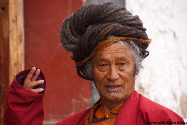 Ngakpa (yogi) at Rongwu Monastery