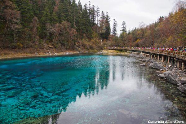 Jiuzhaigou National Park: Five Coloured Pool
