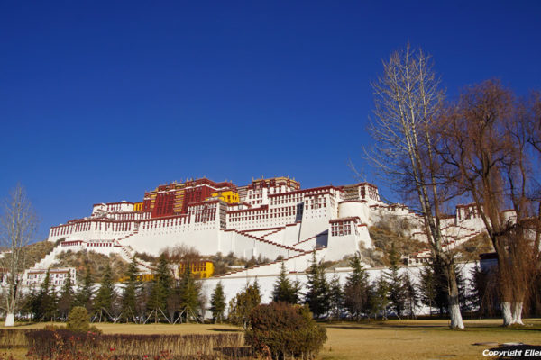 Lhasa, the Potala Palace