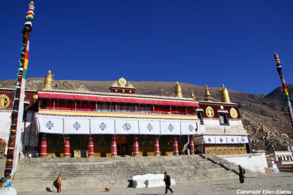 Lhasa, the main assembly hall at Drepung Monastery