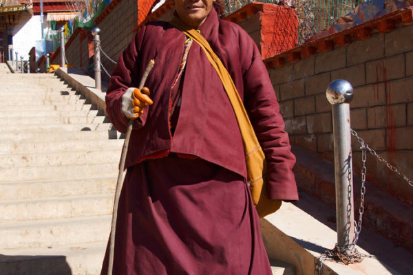 Monk at Chimpuk Hermitage