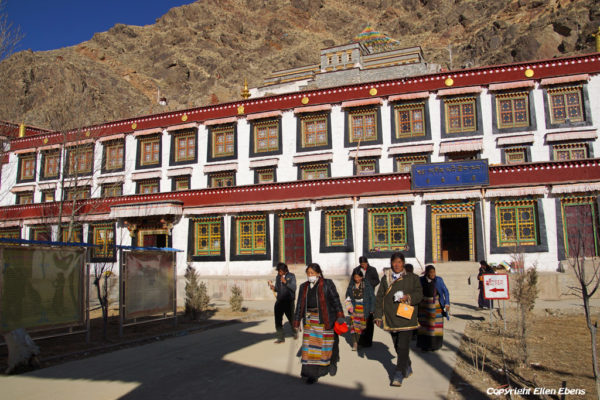 Dorje Drak Monastery in the Yarlung Tsangpo Valley
