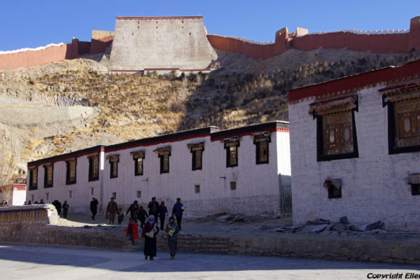 Pelkor Chöde Monastery at the city of Gyantse