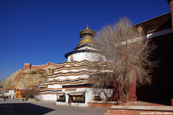 The Gyantse Kumbum stupa at the Pelkor Chöde Monastery