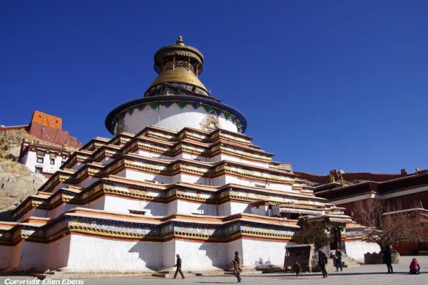 The Gyantse Kumbum stupa
