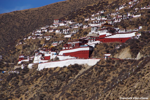 View on Drigung Til Monastery
