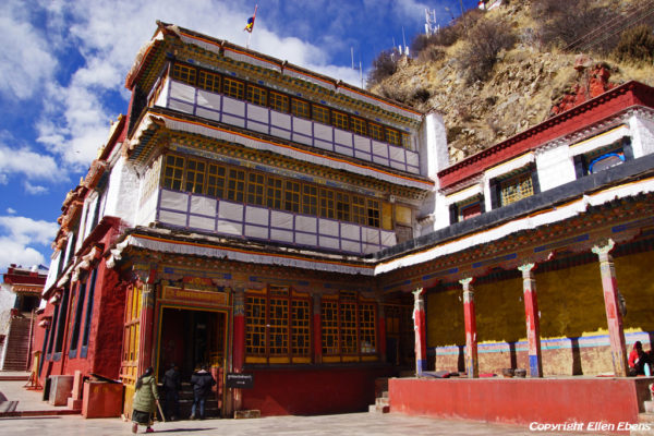 Drigung Til Monastery was founded in the year 1179