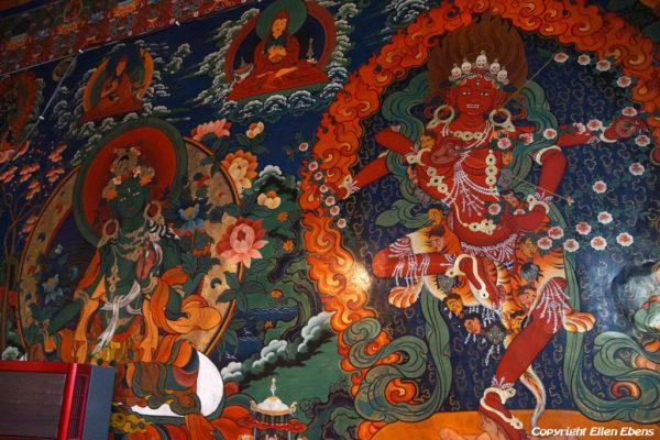 Murals at Drigung Til Monastery