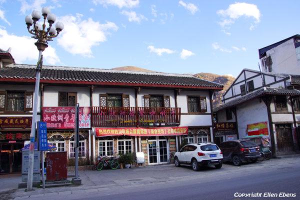 Emma's restaurant at Songpan