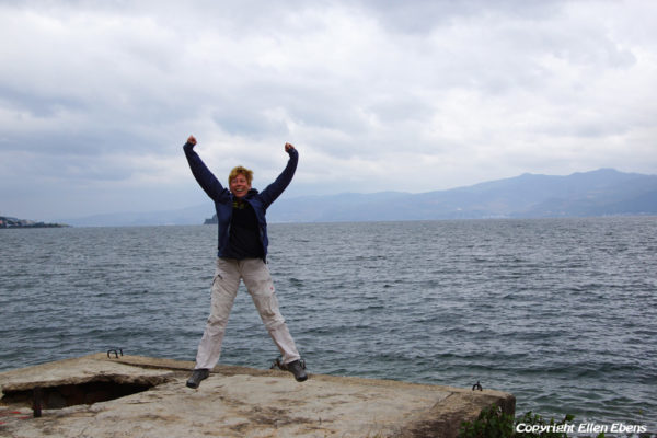 Me at Fuxian Lake