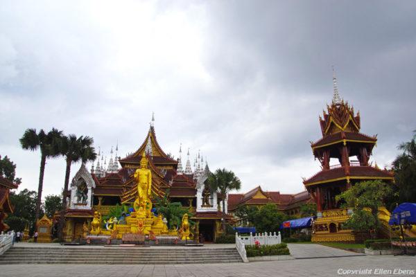 The big Buddhist Temple at Manting Park, Jinghon, Xishuangbanna