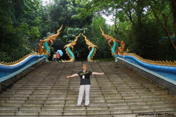 Me at Meng Le Temple, Jinghon, Xishuangbanna