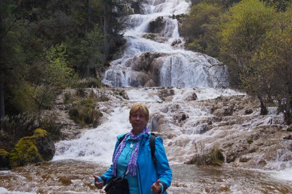 Me at Zhaga Waterfall