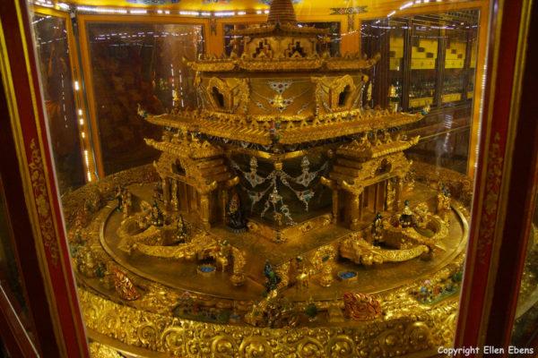 New mandala at the Tandruk Temple near Tsedang
