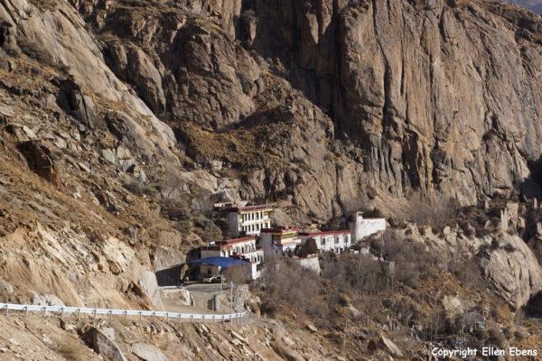 Kytsang (Keutsang) hermitage, Lhasa