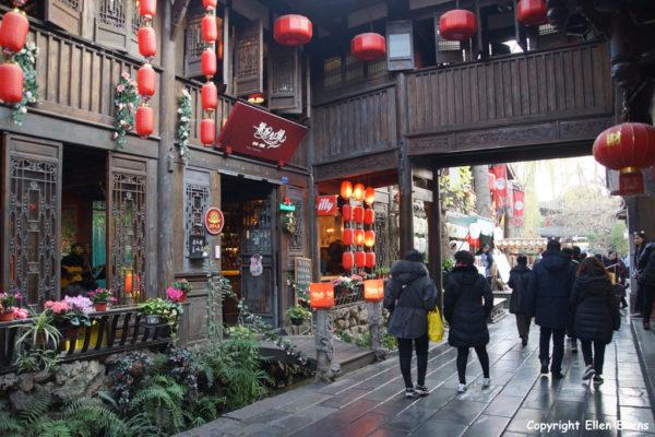 Jinli Street, Chendu