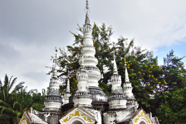 A stupa at Manting Park at the city of Jinghong, Xishuangbanna region