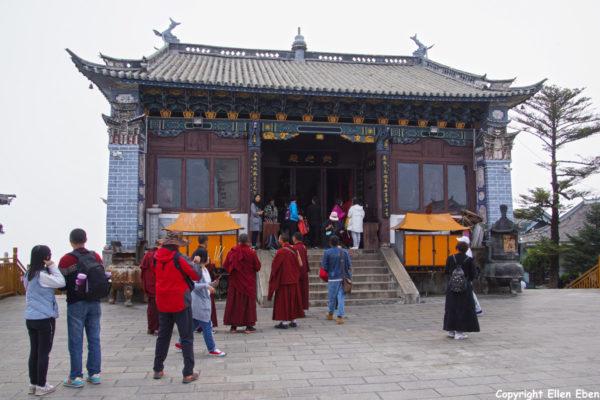 Jizu Shan (Jizu Mountain), the Jinding Temple