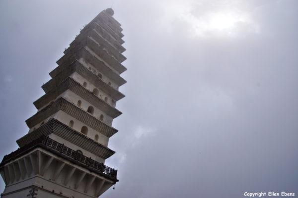 Jizu Shan (Jizu Mountain), the Lengyan Pagoda