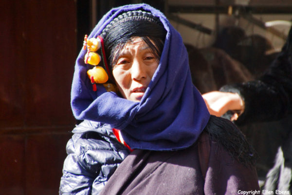 Songpan: local Tibetan woman