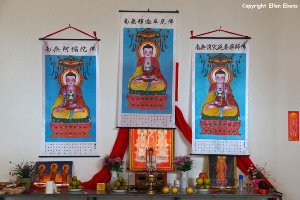 Songpan: a new temple is build on the hillside