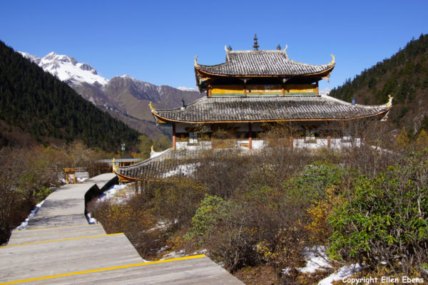 Huanglong National Park: Middle Temple