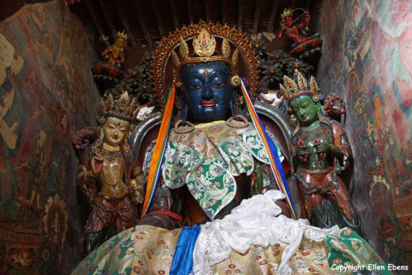 Inside the Gyantse Kumbum Stupa