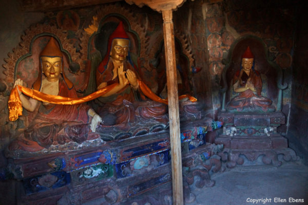 Inside the Gyantse Kumbum Stupa