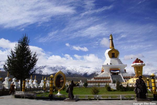 The great Stupa at Garze