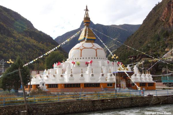 New Stupa near Derge
