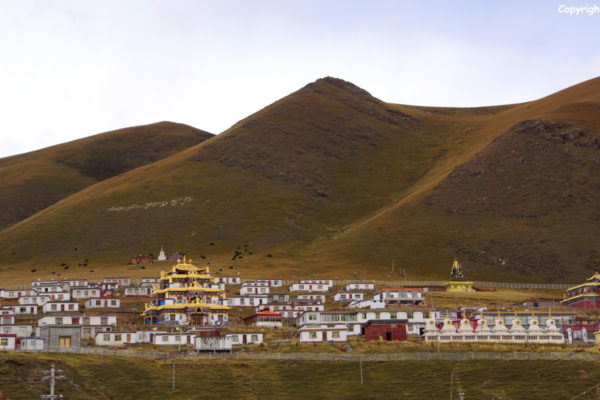 Landscape on the way to Yushu