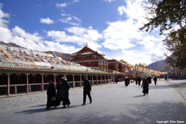 The great mani wall at Yushu