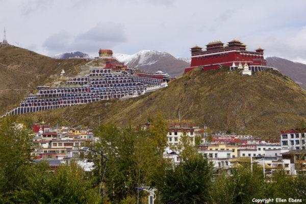Monastery at Yushu