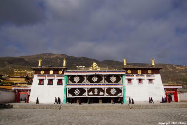 Longwu Monastery at Rebkong