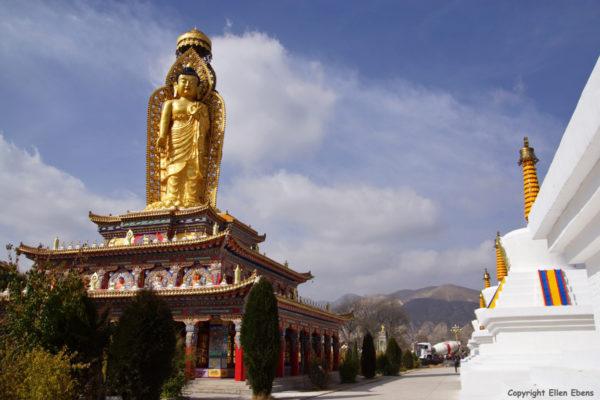 Wutun Monastery at Rebkong