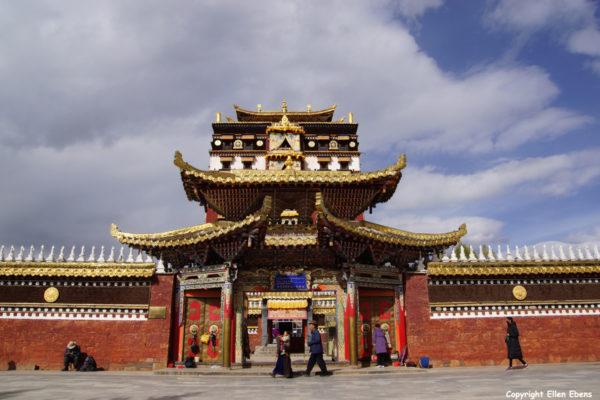 Milarepa Temple at Hezuo