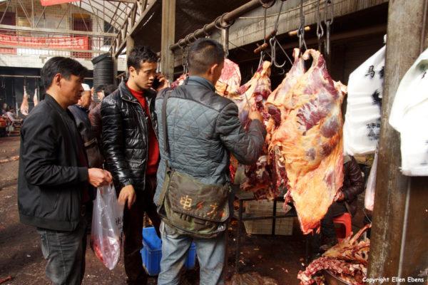 Meat market Songpan